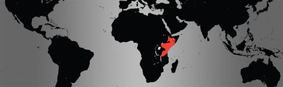 lesser kudu map