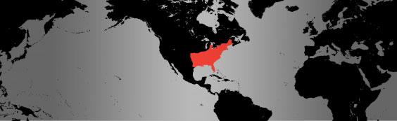 eastern box turtle map