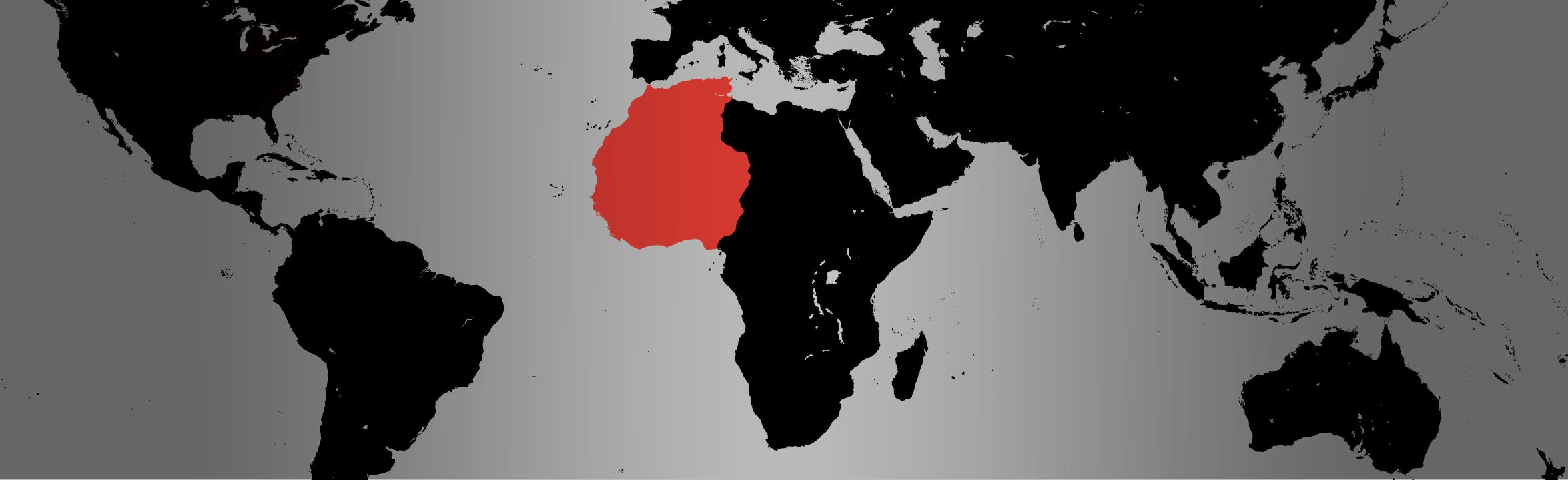 Nigerian Dwarf Goat map